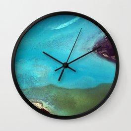 Jeweled Seaway Wall Clock
