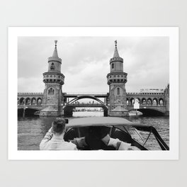 Oberbaum on Spree Art Print