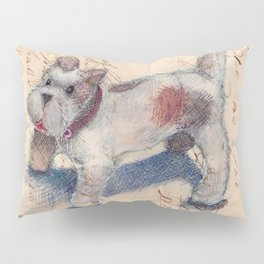 Chenille Dog Pillow Sham