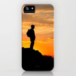 Sapper Sunset iPhone Case