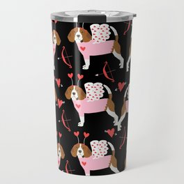 Beagle valentines day cute dog gifts pure breed rescue dogs must haves Travel Mug
