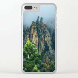 Wasatch Mountains, No. 2 Clear iPhone Case