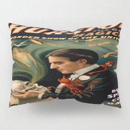 Vintage poster - Thurston the Magician Pillow Sham