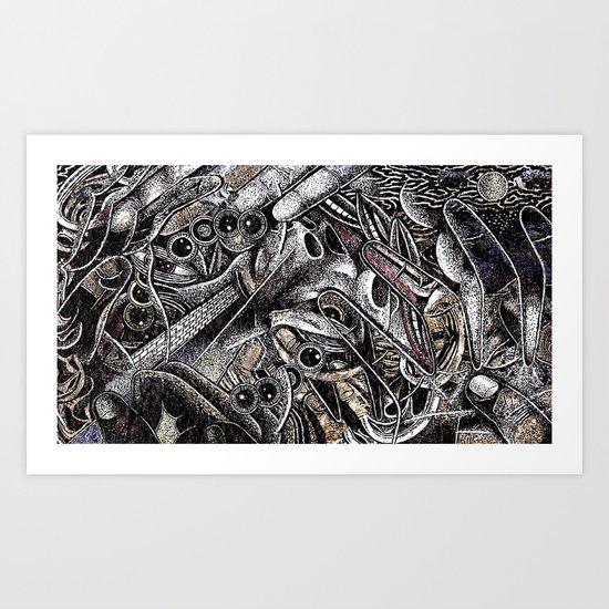 Mind Frame (Still Frame 3) Art Print