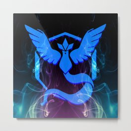 Team Mystic. Metal Print