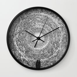The Divine Comedy Gustave Doré Wall Clock