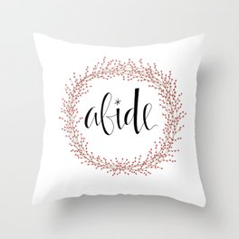 Abide Throw Pillow