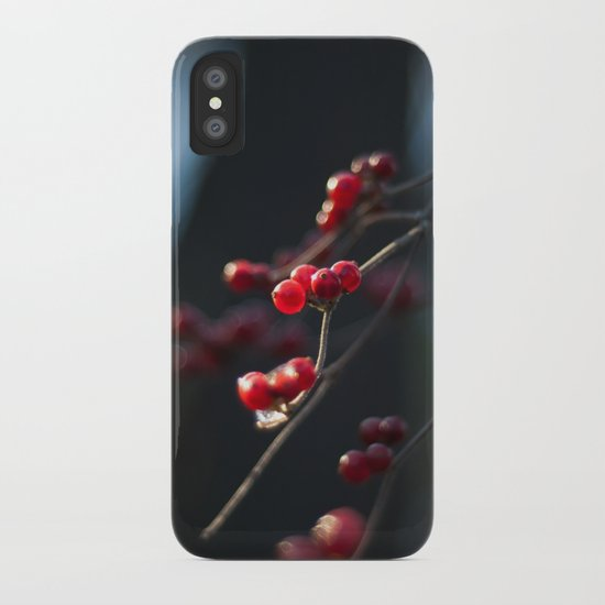 Winter Berries II iPhone Case
