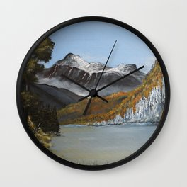 The Hidden Cove Wall Clock