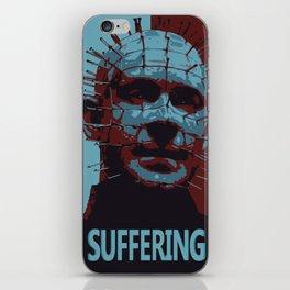 Horror Print Series-Suffering iPhone Skin