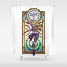Sage of Time Shower Curtain