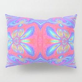 Mitosis of butterflies in dawn rainbow Pillow Sham