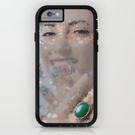smiles and rings iPhone Case
