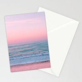 Gorgeous Pink Sunset Stationery Cards