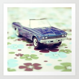 Chevelle Convertible Art Print
