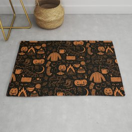 Autumn Nights: Halloween Rug