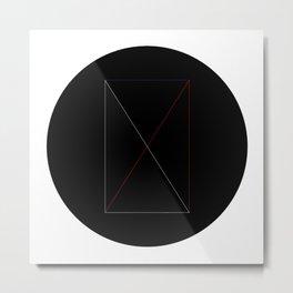 Circles and shapes Metal Print