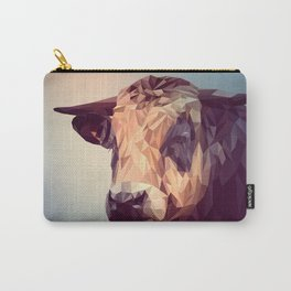 Bull Vector Illustration Carry-All Pouch