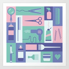 Beauty School Art Print