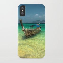 Thailand Longboat iPhone Case