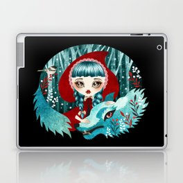 Red of the Woods Laptop & iPad Skin