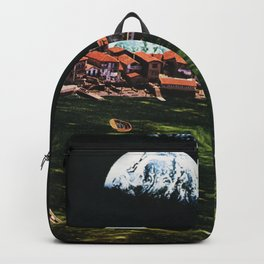 Global Warming in another Galaxy Backpack