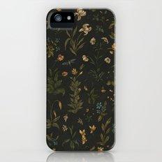 Old World Florals iPhone SE Slim Case