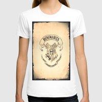 "hogwarts T-shirts featuring HOGWARTS by ""CVogiatzi."