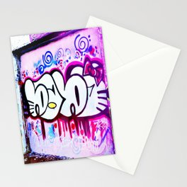 Kitty Kitty Graffiti West Philly Stationery Cards
