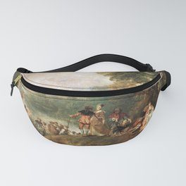 Antoine Watteau's The Embarkation for Cythera Fanny Pack