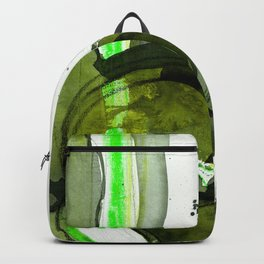 Brush Journey No.8b by Kathy Morton Stanion Backpack