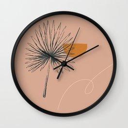 Summer on the beach Wall Clock