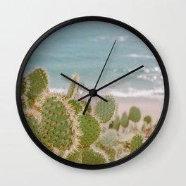 Cactus in California Wall Clock