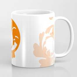 BLAZE ORANGE : live your purpose Coffee Mug