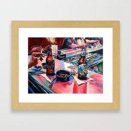 """Err In Ways, Stumble In Judgement"" Framed Art Print"