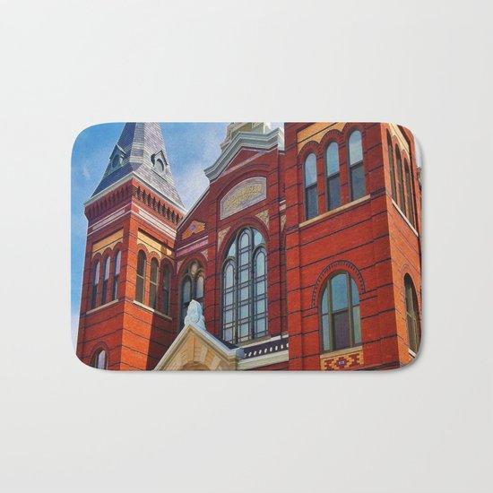 Washington DC Red Brick Bath Mat