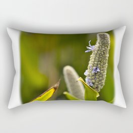 Flowered Catkin Rectangular Pillow