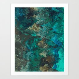 Emerald Forest Art Print