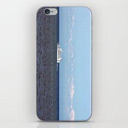 Yatch and Birds Racing iPhone Skin