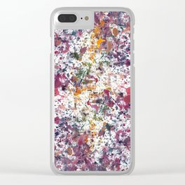 Splat Clear iPhone Case