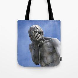 Contemplating Blue Skies Tote Bag