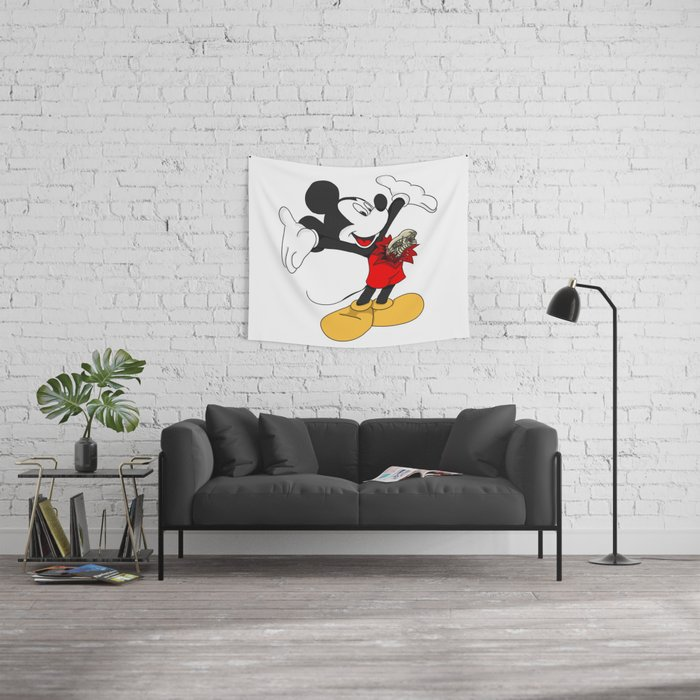 Mickey passenger Wall Tapestry