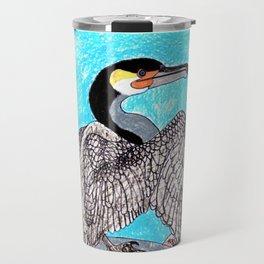 Great Cormorant Travel Mug