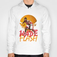 nba Hoodies featuring NBA Legends: Dwyane Wade by Akyanyme