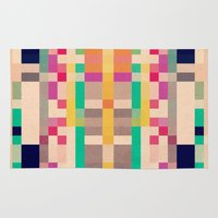 quilt Area & Throw Rugs featuring quilt by spinL