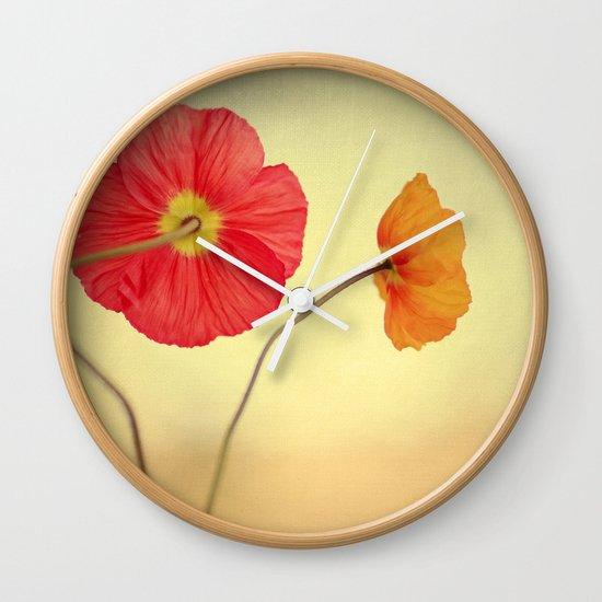 Les Jolies Fleurs Wall Clock