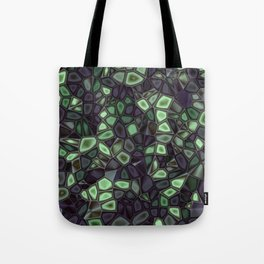 Fractal Gems 04 - Emerald Dreams Tote Bag