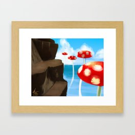 Tall-Tall Framed Art Print