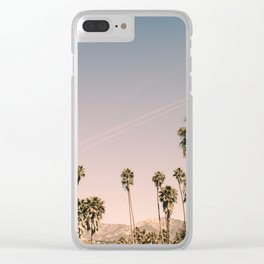 Golden Hills of L.A. Clear iPhone Case