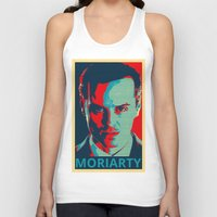 moriarty Tank Tops featuring MORIARTY by Pop Atelier